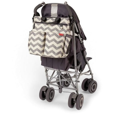 Skip Hop Signature Diaper Bag Chevron