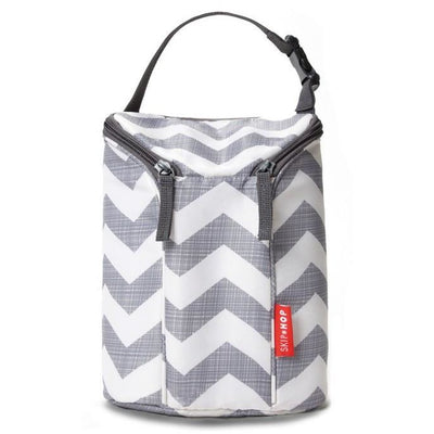 Skip Hop Grab & Go Double Bottle Bag Chevron