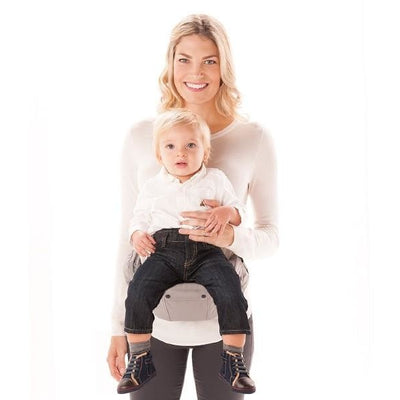 ergobaby hipseat 6 position baby carrier galaxy grey