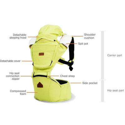 i-angel irene hipseat baby carrier