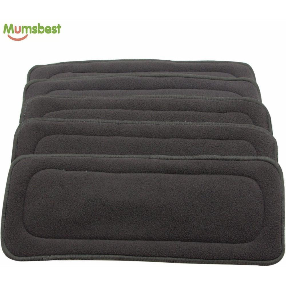 Bamboo Charcoal Inserts For Baby Cloth Diaper Set