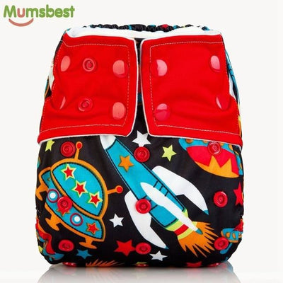 All-In-One Cloth Diapers With Microfiber Inserts
