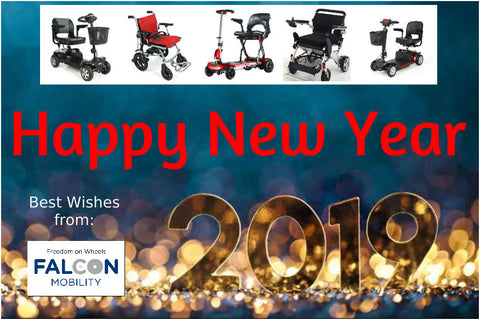 Happy New Year 2019 from Falcon Mobility
