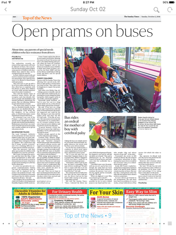 Article - Pediatric Wheelchair on Buses