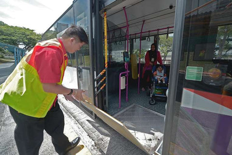 Automatic Wheelchair Ramps for Buses