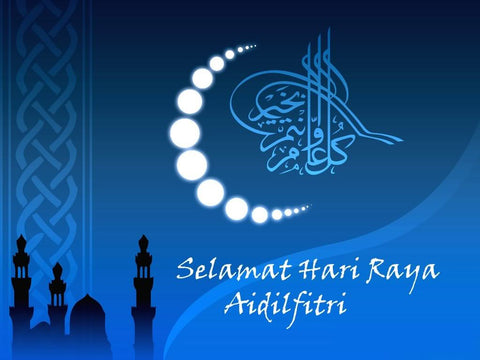 Selamat Hari Raya to all our friends in Singapore, Malaysia and Indonesia