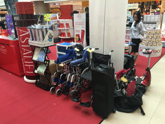 Wheelchairs at Bishan Road Show