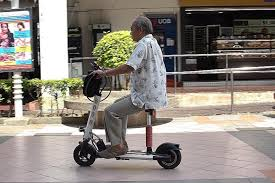 Mobility Scooters and Quality of Life for the Elderly