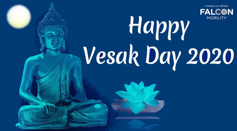 Happy Vesak Day from Falcon Mobility
