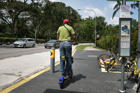 Elderly mobility scooters EXEMPT from registration