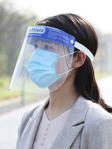 Face shield or face masks