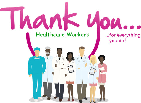 Thank you, Healthcare Workers