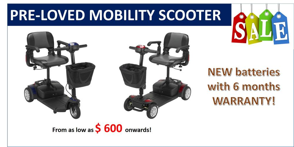 Preloved Mobility Scooter Sale!