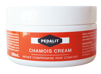 Cycling chamois cream