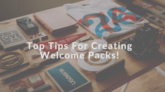 Welcome Packs For Employees and Clients
