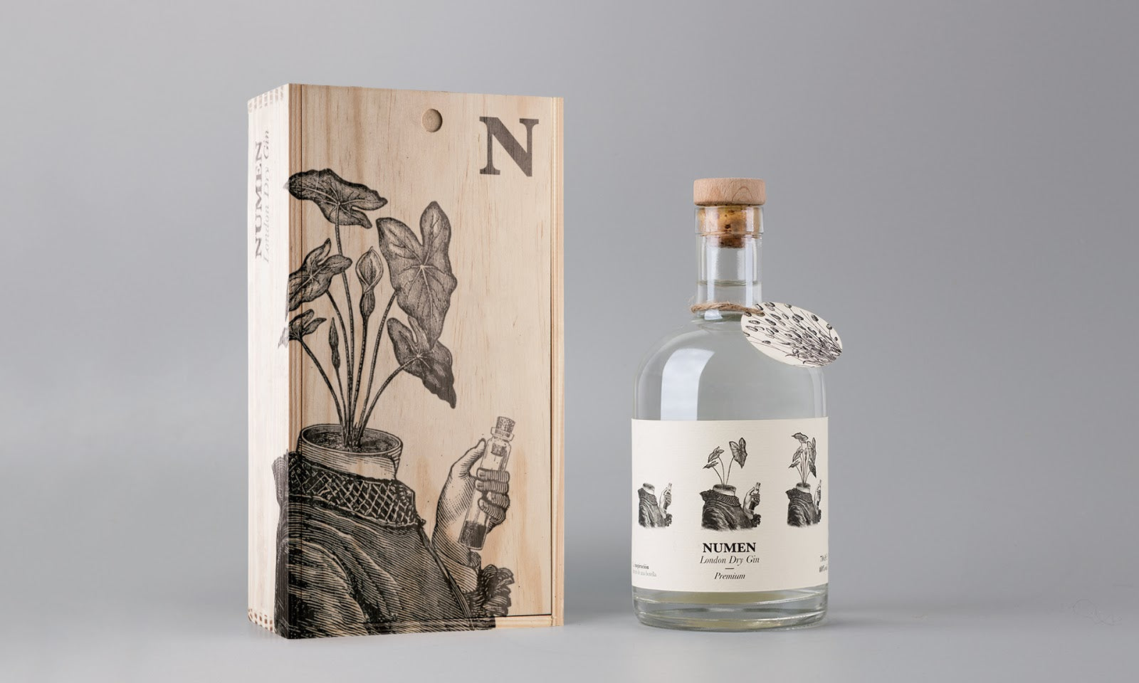 Gin Value Packaging with Gift