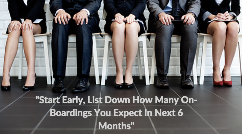 How To Plan For Your Employee On-Boarding