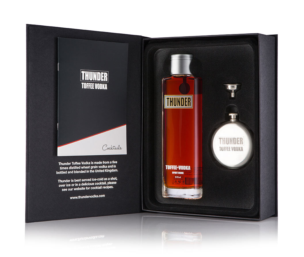 Toffee Thunder Vodka Gift Pack Example