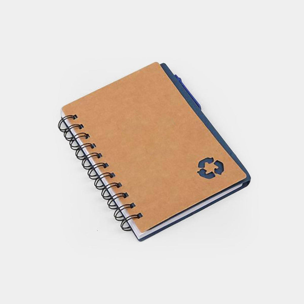 Eco Notebook with Pen & Sticky Notes