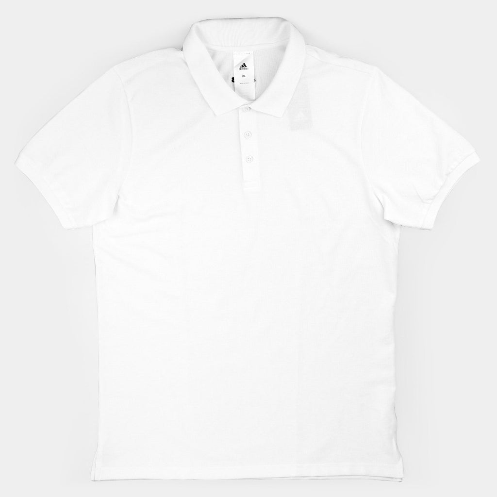 Adidas Polo T-Shirt White