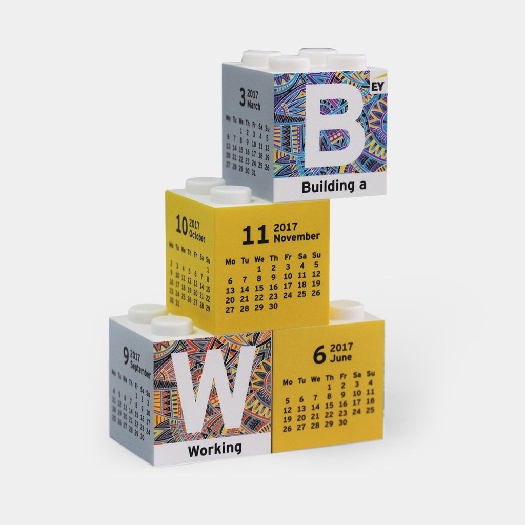 Building Blocks Calendar
