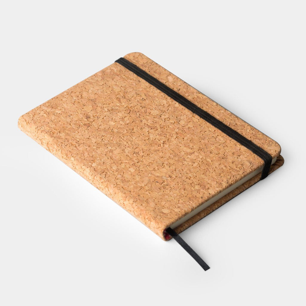 Cork cover notepad