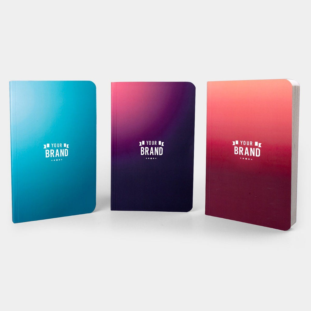 Gradient Notebook Softbound