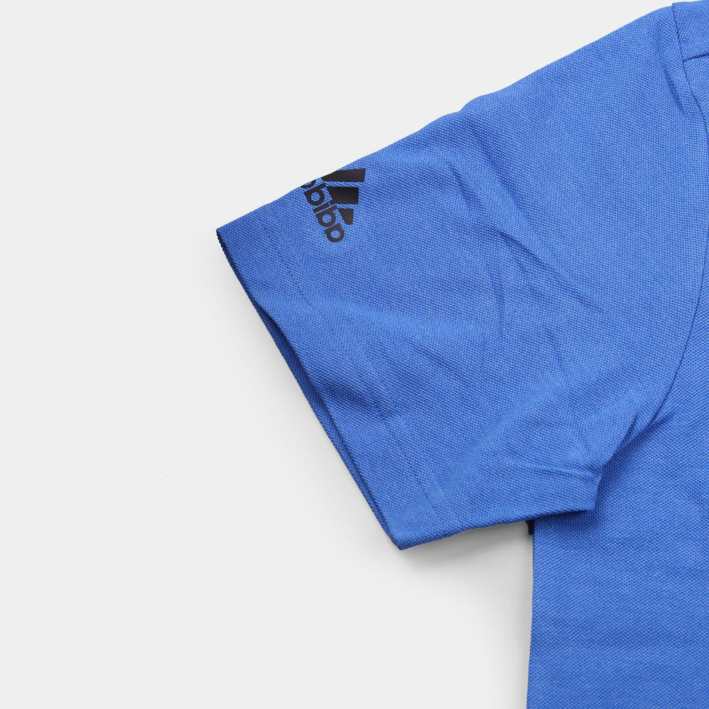 Adidas Polo T-Shirt Blue