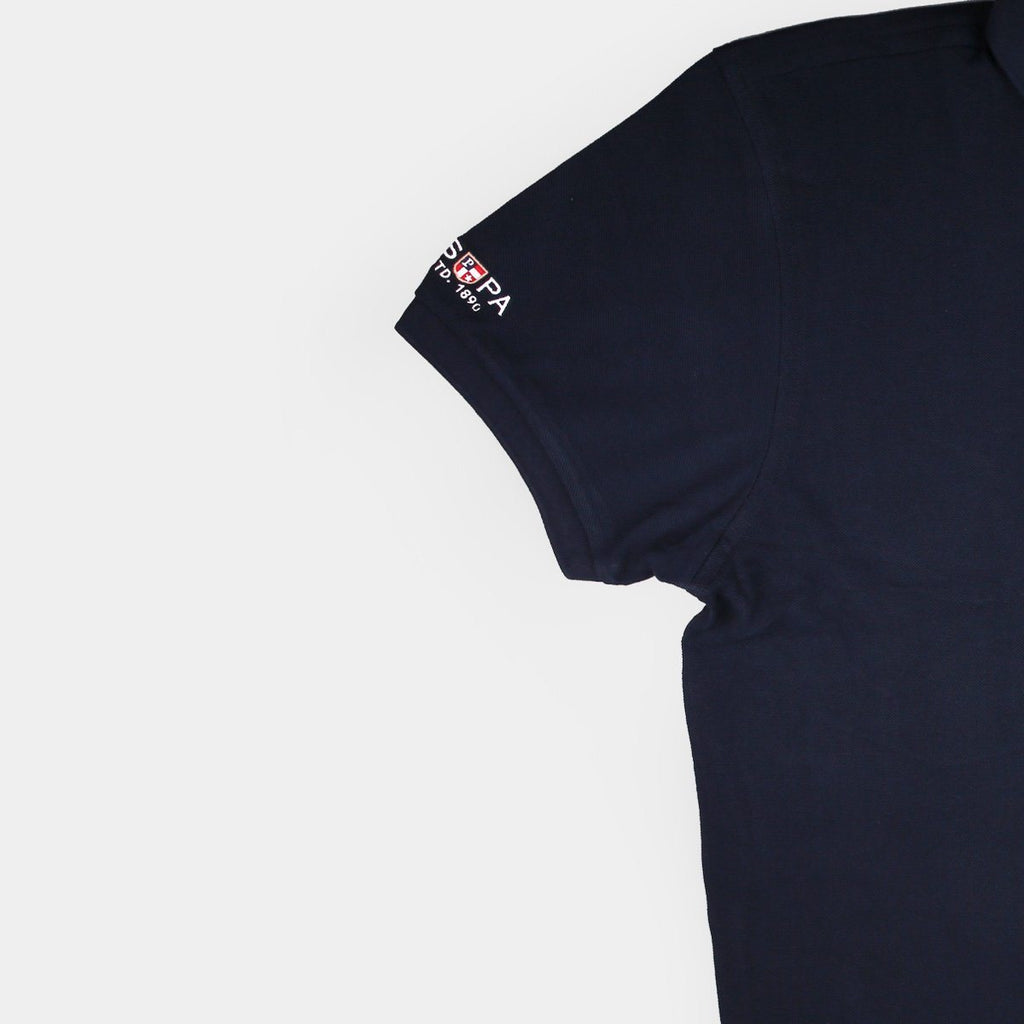 US Polo Collared T-Shirt Navy Blue