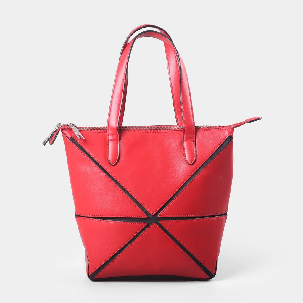 Cross Origami Collapsible Small Tote