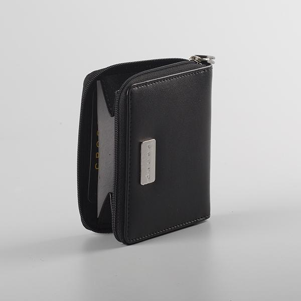 Insignia Compact Zip Around Wallet