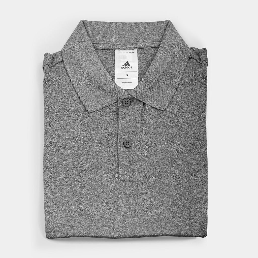 Adidas Dry Fit Polo T-Shirt Grey