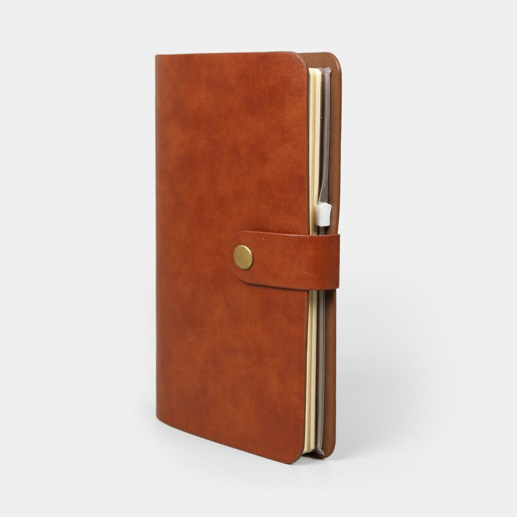 Journal Pennline Quikrite Notebook Brown