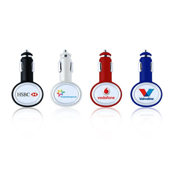 Logo customized brand charger1