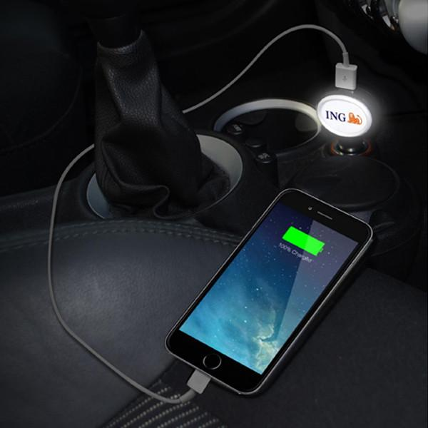 brand charger 1 in use in car