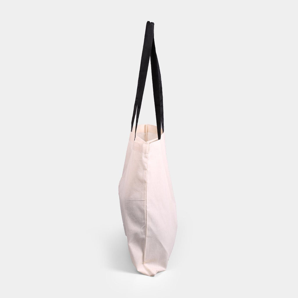 Canvas Tote Tape Handle