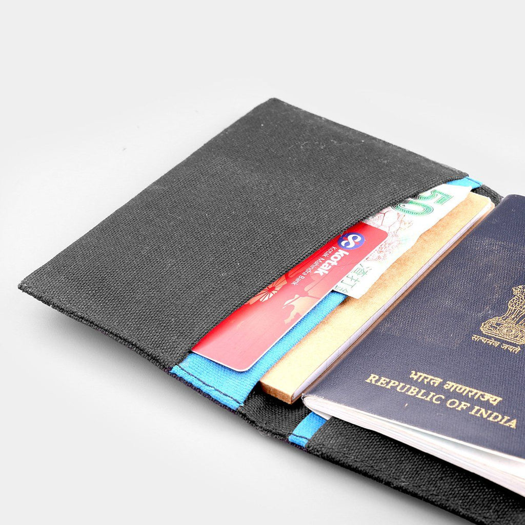 Canvas Passport Holder