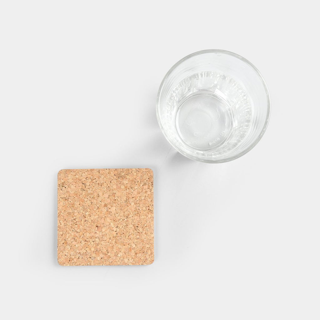Set of 4 Cork Coaster