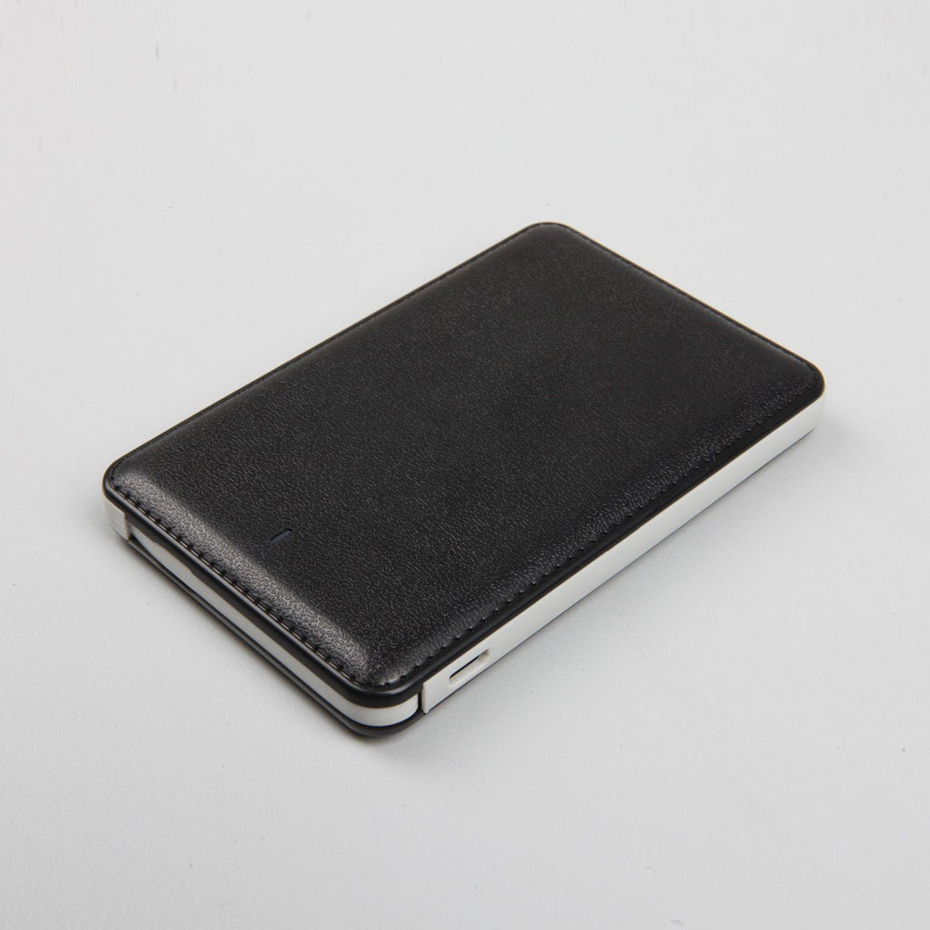 Slim Leather Powerbank 3k mAh