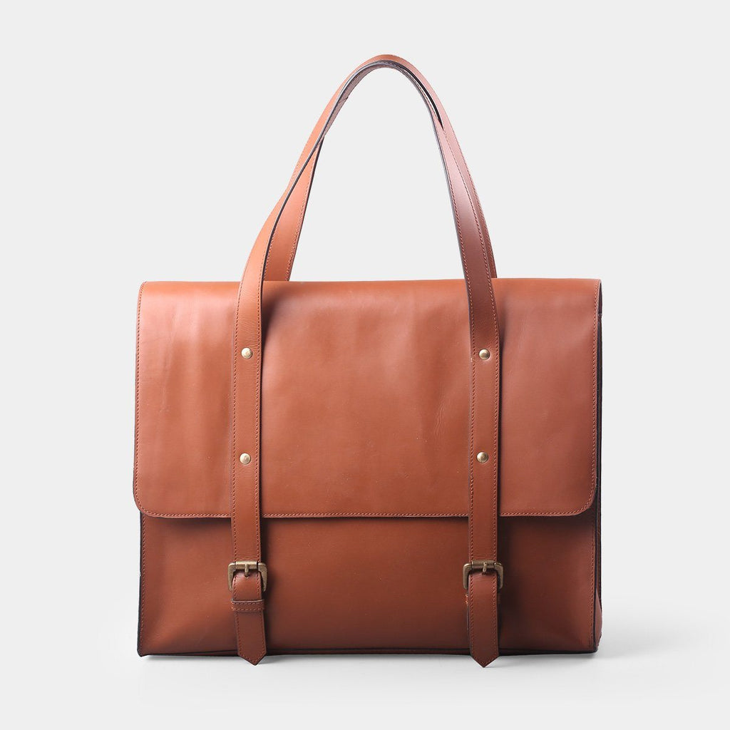 Indiana Leather Laptop Bag