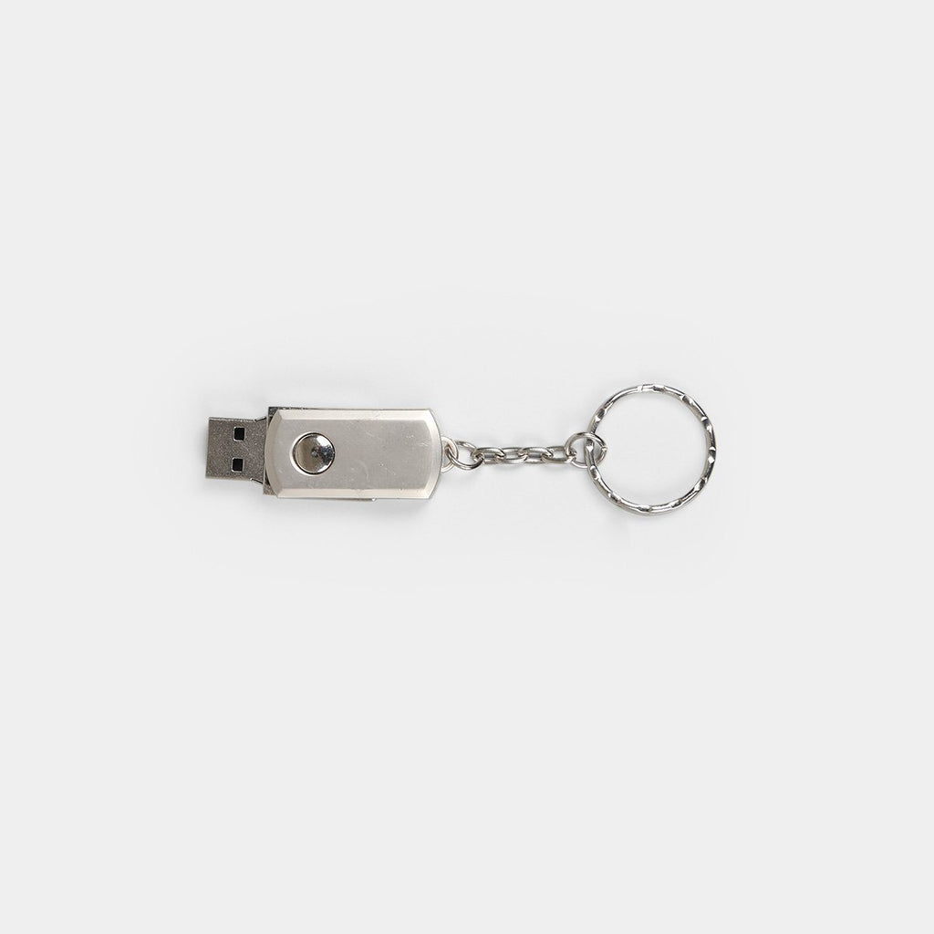 Key Ring Metal Swivel Pen Drive