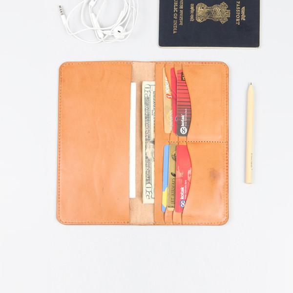 LONG PASSPORT HOLDER