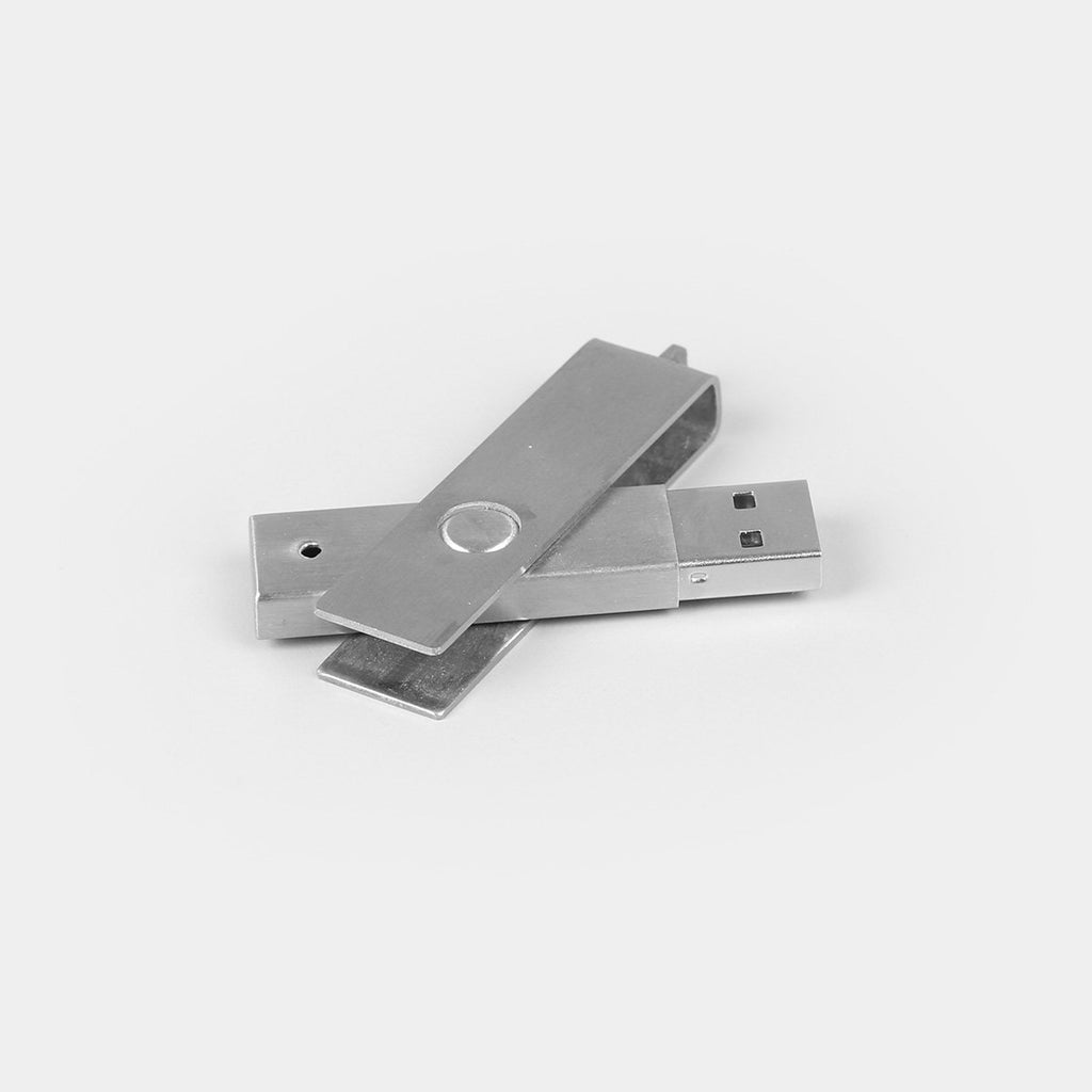 Metal Swivel Pen Drive