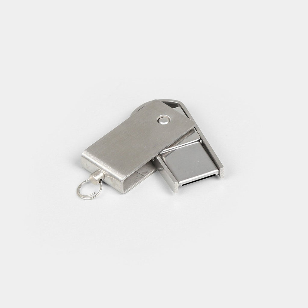 Mini Metal Swivel Pen Drive