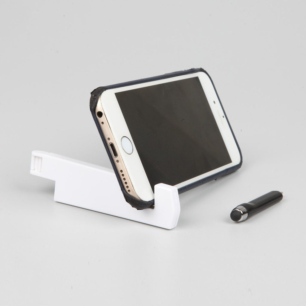 Mobile & Tablet Stand with Stylus & Pen