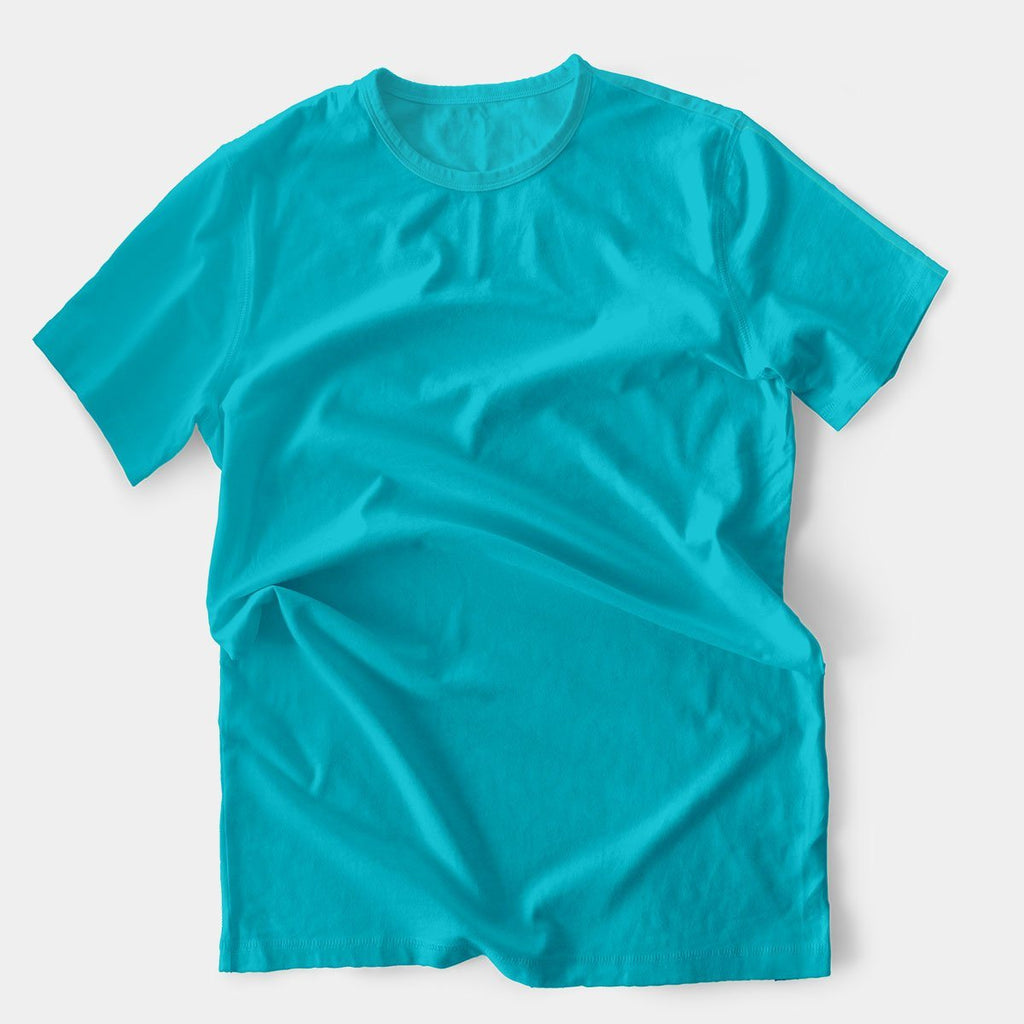 Polyester Round Neck T-Shirt