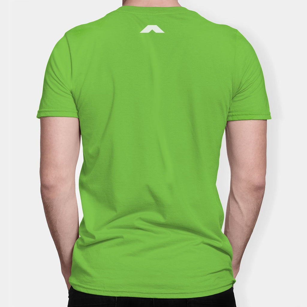 Poly Round Neck Green