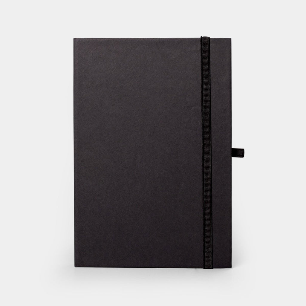 Retro Journal Black Hardbound