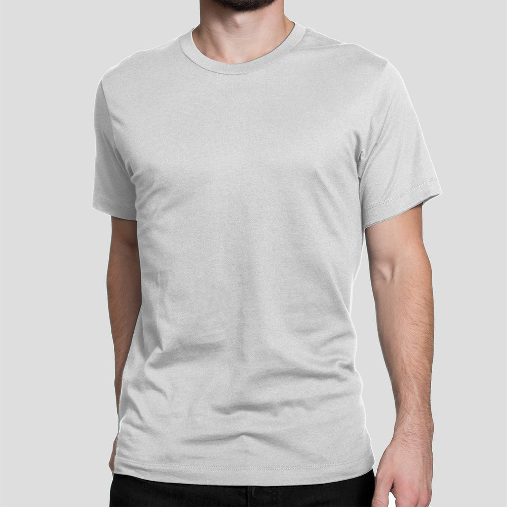 Basic Poly White T-Shirt