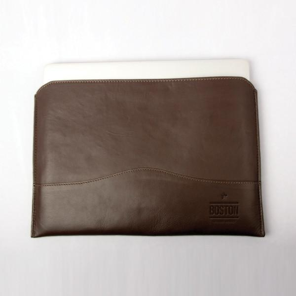 SLIM LEATHER LAPTOP CASE